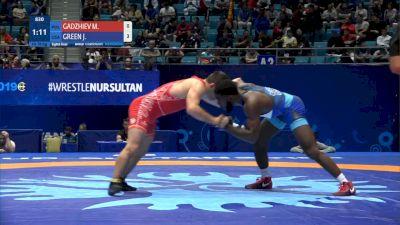 Magomedmurad Gadzhiev (POL) vs James Green (USA)
