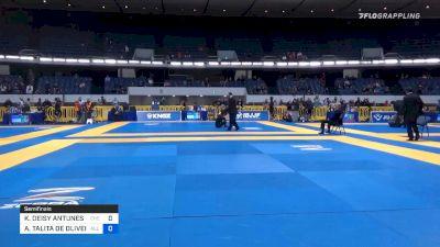 KAREN DEISY ANTUNES GIROTTO BORG vs ANA TALITA DE OLIVEIRA ALENCAR 2019 World IBJJF Jiu-Jitsu No-Gi Championship