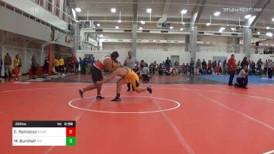 Prelims - Edwin Ramierez, Newberry vs Mike Burchell, Appalachian State