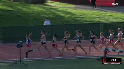 Women's 10k, Heat 1