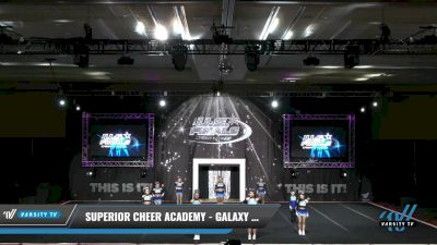 Superior Cheer Academy - Galaxy Rebels [2021 L2.2 Senior - PREP 2] 2021 The U.S. Finals: Grapevine