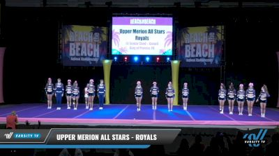 Upper Merion All Stars - Royals [2021 L6 Senior Coed - XSmall Day 1] 2021 ACDA: Reach The Beach Nationals