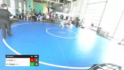 126 lbs Rr Rnd 3 - Colin Scott, Dirty Birds vs Rj Villegas, Rbwc