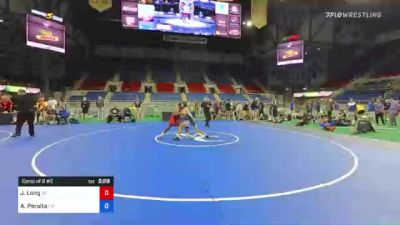 138 lbs Consi Of 8 #2 - Jj Long, Oklahoma vs Alec Peralta, California