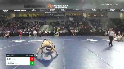 165 lbs Semifinal - Bradan Birt, Millikin University vs Gabe Fiser, Loras College