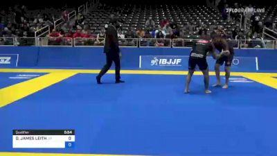DANIEL JAMES LEITH vs JORDAN MICHAEL MADISON 2021 World IBJJF Jiu-Jitsu No-Gi Championship