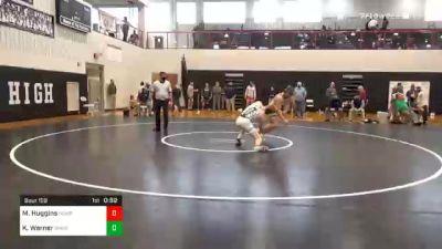 189 lbs 3rd Place - Mason Huggins, Newport vs Kade Werner, Bishop McDevitt