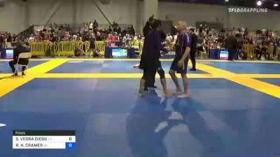 SUNNY VEDRA DIEGO vs RYAN H. CRAMER 2021 American National IBJJF Jiu-Jitsu Championship