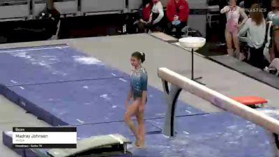 Madray Johnson - Beam, WOGA - 2021 US Championships