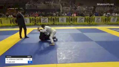 DAMIAN JOSHUA CASTRO vs TROY GALVEZ 2021 Pan Kids Jiu-Jitsu IBJJF Championship