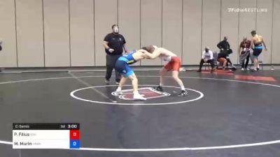 65 kg Consolation - Parker Filius, Boilermaker RTC vs Max Murin, Hawkeye Wrestling Club