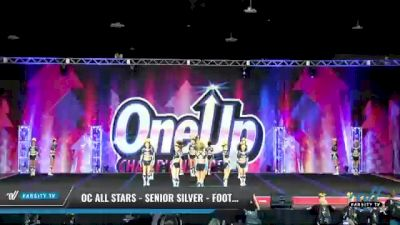 OC All Stars - Senior Silver - Foothill Ranch [2021 L4 Senior - Small Day 1] 2021 One Up National Championship