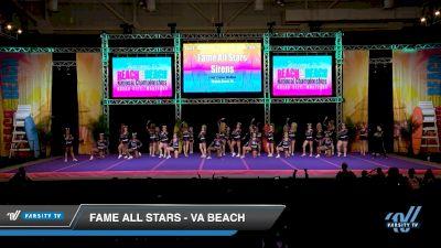 FAME All Stars - VA Beach [2019 SIRENS L2 Senior - Medium] 2019 Reach The Beach Nationals
