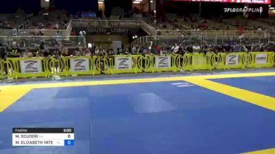 MILANA SCUDERI vs MCKAYLA ELIZABETH YATES 2021 Pan Kids Jiu-Jitsu IBJJF Championship