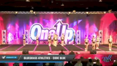 Bluegrass Athletics - Code Blue [2021 L6 Senior Coed - XSmall Day 1] 2021 One Up National Championship