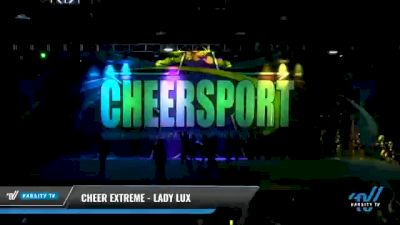 Cheer Extreme - Kernersville - Lady Lux [2021 L6 International Open - NT Day 2] 2021 CHEERSPORT National Cheerleading Championship