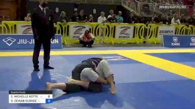 CHRISTY MICHELLE KOTTER vs SA'IDAH ZEINAB DURKEE 2021 Pan Jiu-Jitsu IBJJF Championship