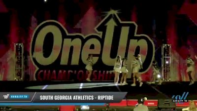 South Georgia Athletics - RipTide [2021 L3 Senior Coed - D2 Day 2] 2021 One Up National Championship