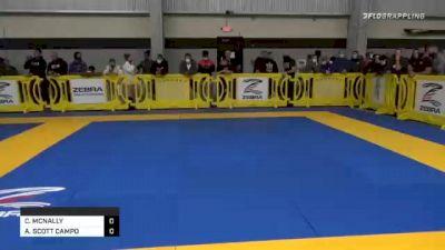 CHLOE MCNALLY vs AMY SCOTT CAMPO 2020 American National IBJJF Jiu-Jitsu Championship