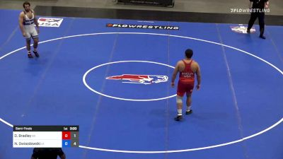 125 kg Semifinal - Dom Bradley, Team Bobby Douglas vs Nick Gwiazdowski, Team Lloyd Keaser