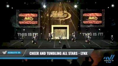 Cheer and Tumbling All Stars - Lynx [2021 L1.1 Mini - PREP Day 1] 2021 The U.S. Finals: Kansas City