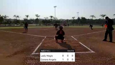 Corona Angels vs. Lady Magic - 2021 TC Nationals - Pool Play