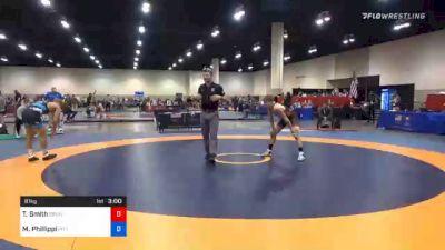 61 kg Prelims - Ty Smith, Brunson UVRTC vs Micky Phillippi, Pittsburgh Wrestling Club