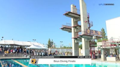 CIF State Championships, Diving Finals: Boys