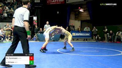 149 lbs 7th Place - Matt Zovistoski, App St vs Jared Prince, Navy