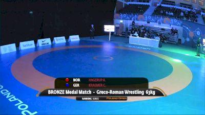 63kg Bronze - Christopher Kraemer, GER vs Artor Hagerup, NOR
