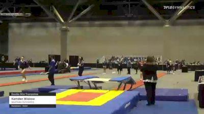 Kamden Wiskow - Double Mini Trampoline, Southlake Gymnastics - 2021 USA Gymnastics Championships