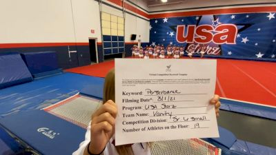 USA Starz - Vanity [L6 Senior - Small] 2021 USA All Star Virtual Championships