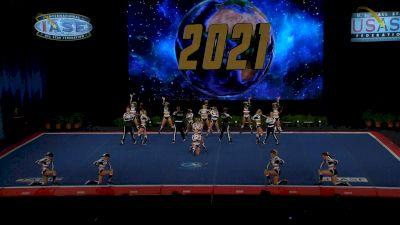 OC All Stars - Black [2021 L6 Senior Open Small Coed Finals] 2021 The Cheerleading Worlds