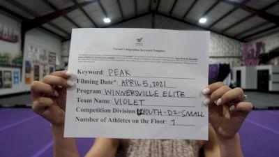 Winnersville Elite - Violet [L1 Youth - D2 - Small] 2021 The Regional Summit Virtual Championships
