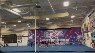 Arizona Fusion Cheer - Blue Tide [L3 Junior - D2 - Small - B] 2021 Varsity All Star Winter Virtual Competition Series: Event II