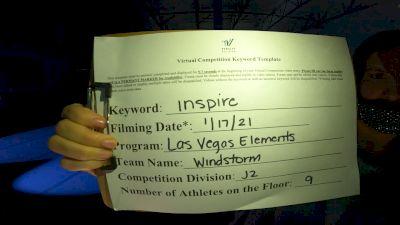 Las Vegas Elements - Windstorm [L2 Junior - D2 - Small] 2021 GSSA DI & DII Virtual Championship
