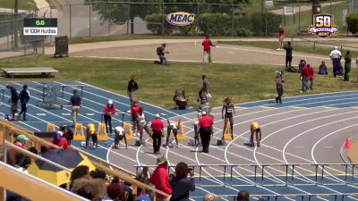 TeJyrica Robinson NCAA Top Ten 12.90 100mH