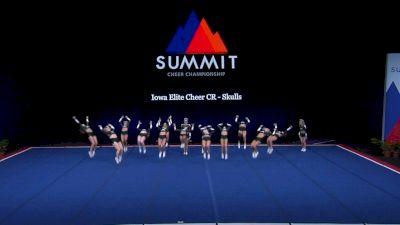Iowa Elite Cheer - Skulls [2021 L4 Senior - Small Finals] 2021 The Summit