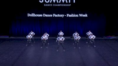 Dollhouse Dance Factory - Fashion Week [2021 Mini Hip Hop - Small Semis] 2021 The Dance Summit