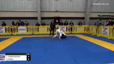 LAVINIA FRANCESCONI vs KATHLEEN EGAN 2020 American National IBJJF Jiu-Jitsu Championship