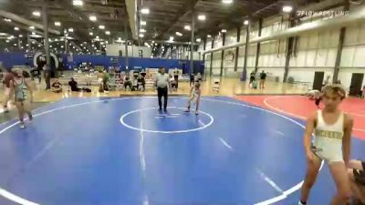 82 lbs Rr Rnd 3 - Landon Higgins, Missouri Outlaws vs Gage Lohr, The Funky Singlets