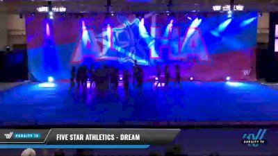 Five Star Athletics - Dream [2021 L6 Senior Coed - Small Day 2] 2021 Aloha DI & DII Championships