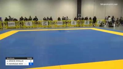JONNATAS GRACIE ARAUJO DA SILVA vs PEDRO HENRIQUE MONTEIRO PALHARES 2020 IBJJF Pan No-Gi Championship