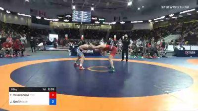 86 kg Consolation - Fernando Villaescusa, Cyclone Regional Training Center C-RTC vs Jaxon Smith, Georgia