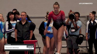 Alexandra Siminiuc - Tumbling - 2019 Canadian Gymnastics Championships - TG