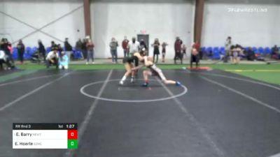 101 lbs Prelims - Eva Barry, Newton Braves vs Emme Hoarle, Somerville Branchburg Wrestling Club