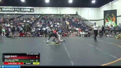 135 lbs 1st Place Match - Nasir Bailey, Illinois vs Dylan Layton, South Carolina