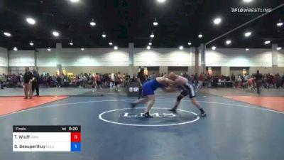 70 lbs Prelims - Calliope Willman, Ohio vs Zoe Roddis, Cleveland Warrior Mat Club