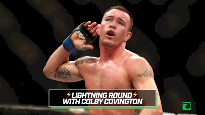 VIDEO: Colby Covington Lightning Round