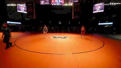 132 lbs 5th Place - Nash Singleton, Oregon vs Christopher Martino, Idaho